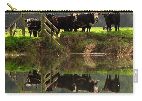 Cow Reflections Carry-all Pouch