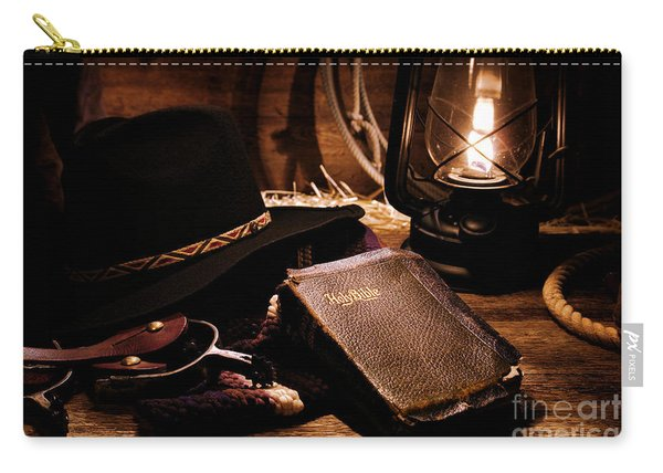 Cowboy Bible Carry-all Pouch