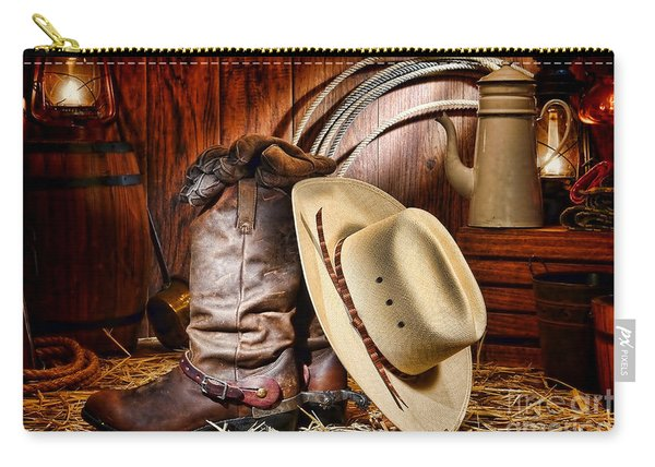 Cowboy Gear Carry-all Pouch