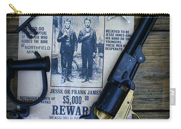 Cowboy - Law And Order Carry-all Pouch