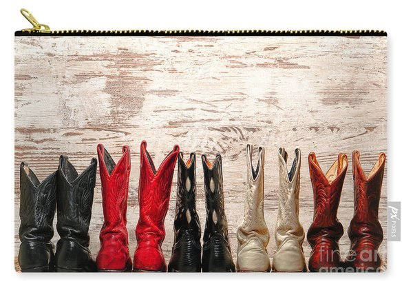 Cowgirls Night Out Carry-all Pouch