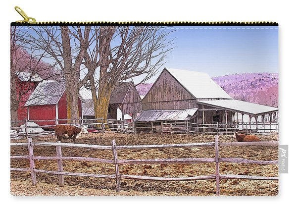 Cows At Jenne Farm Carry-all Pouch