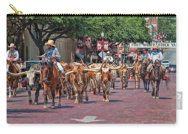 Cowtown Cattle Drive Carry-all Pouch