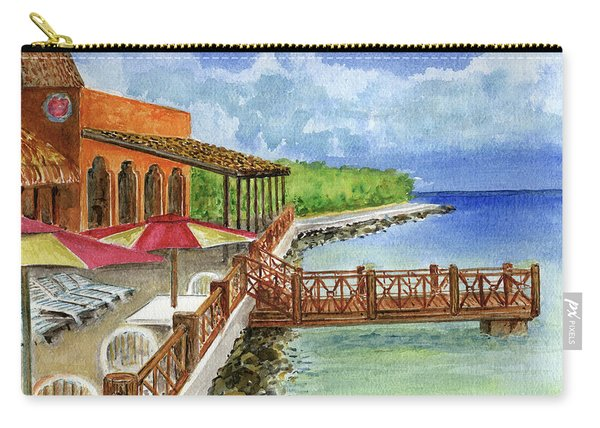 Cozumel Mexico Little Pier Carry-all Pouch