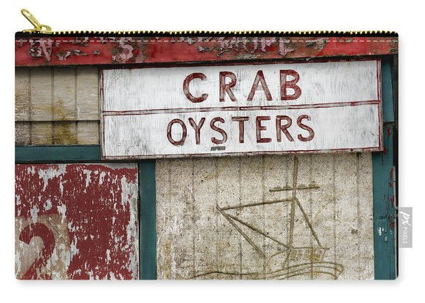 Crab And Oysters Carry-all Pouch