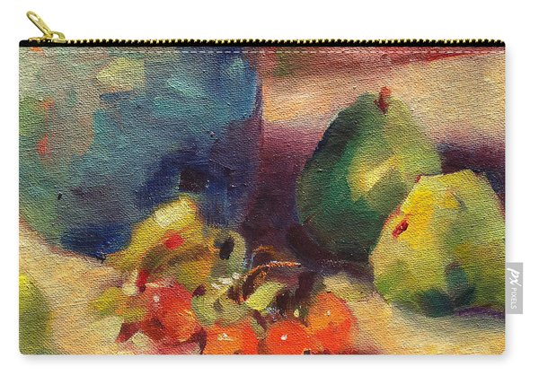 Crab Apples And Pears Carry-all Pouch