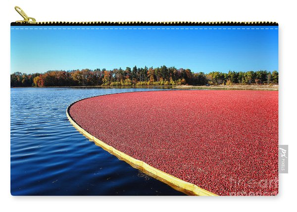 Cranberry Harvest In New Jersey Carry-all Pouch
