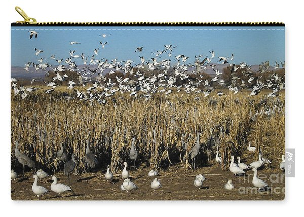 Cranes And Geese 2 Carry-all Pouch