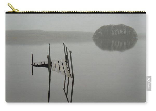 Crannog At Lake Knockalough Carry-all Pouch