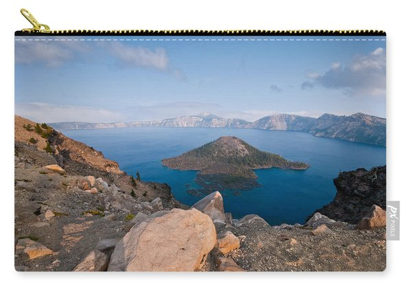 Crater Lake In The Evening Carry-all Pouch