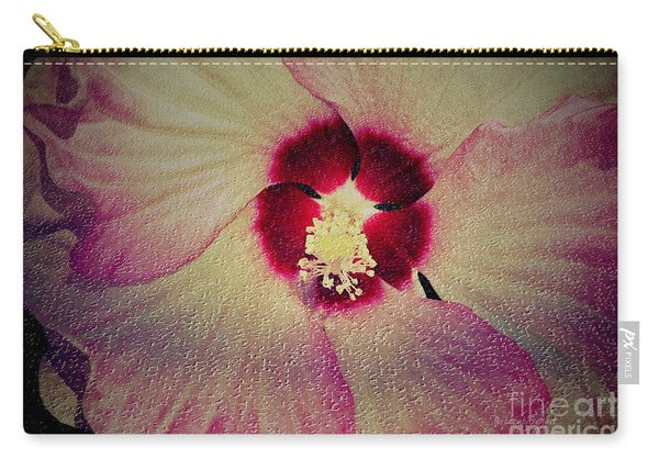 Creative Hibiscus Carry-all Pouch