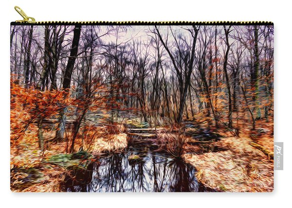 Creek At Pyramid Mountain Carry-all Pouch