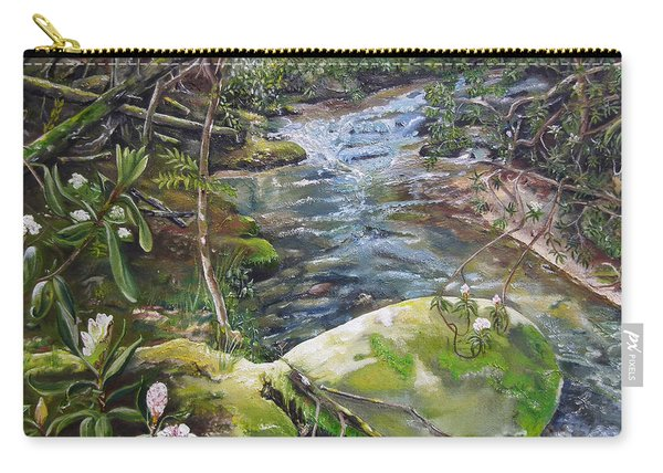 Creek -  Beyond The Rock - Mountaintown Creek  Carry-all Pouch