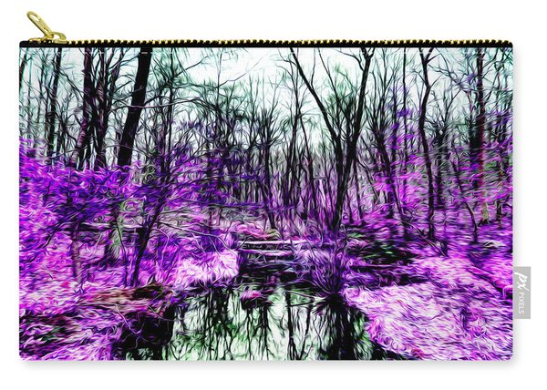 Creek By Purple Carry-all Pouch