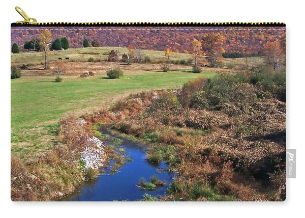 Creek In The Valley Carry-all Pouch