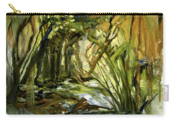 Creek Levels With Overhang Carry-all Pouch