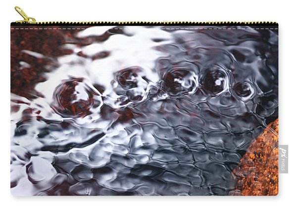 Creek Twirls Abstract Macro Carry-all Pouch
