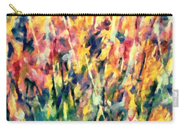Crescendo Of Spring Abstract Carry-all Pouch