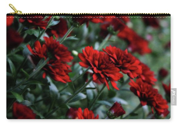 Crimson And Clover Carry-all Pouch