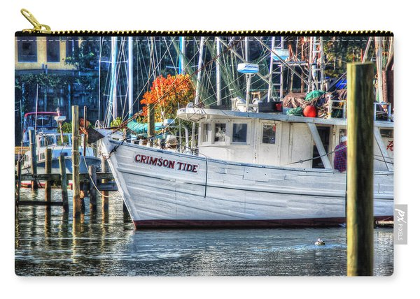 Crimson Tide In Harbor Carry-all Pouch