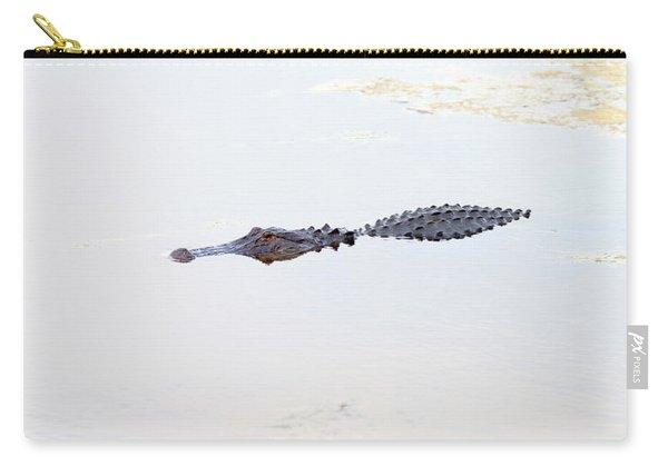 Crocodile In A Pond, Boynton Beach Carry-all Pouch