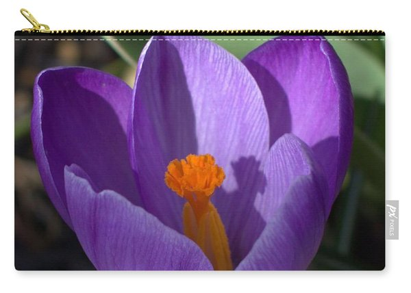 Crocus Mother And Child Carry-all Pouch