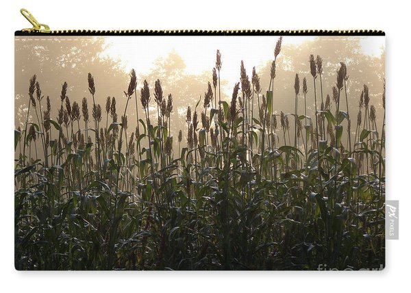 Crops In Fog Carry-all Pouch