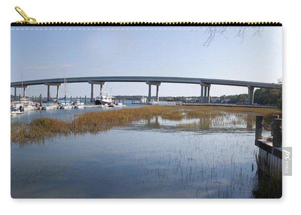 Cross Island Bridge Hilton Head Carry-all Pouch