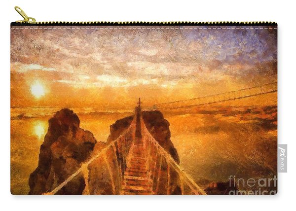 Cross That Bridge Carry-all Pouch
