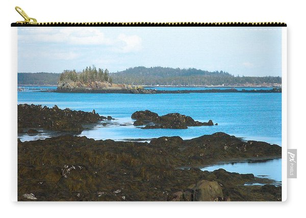 Crow Island Bay Of Fundy Nb Carry-all Pouch