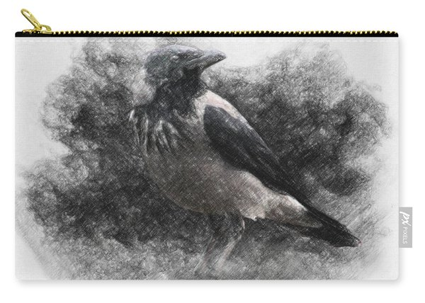 Crow Carry-all Pouch