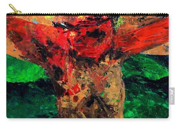 Crucifixion   It Is Finished Carry-all Pouch
