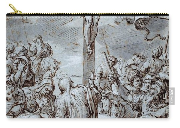 Crucifixion Carry-all Pouch