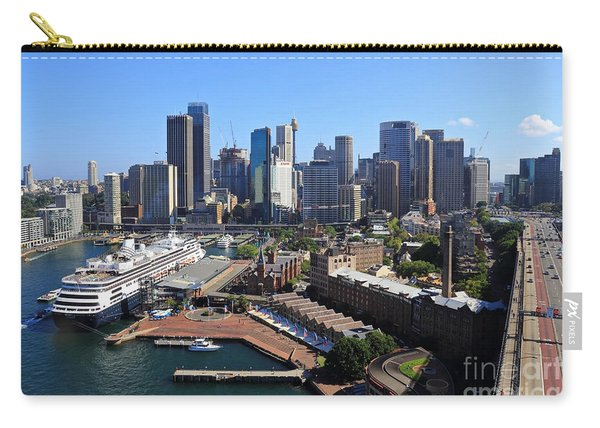 Cruiser Ship In Sydney Carry-all Pouch