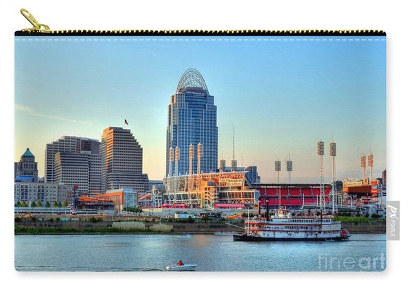 Cruising By Cincinnati Carry-all Pouch