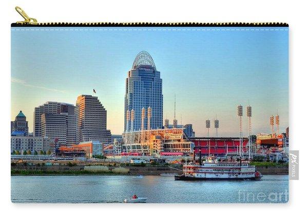 Cruising By Cincinnati Carry-all Pouch