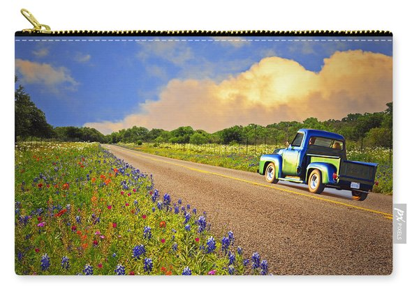 Crusin' The Hill Country In Spring Carry-all Pouch