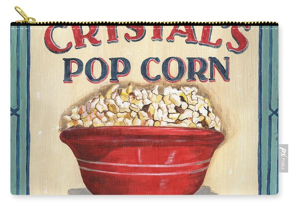 Crystal's Popcorn Carry-all Pouch