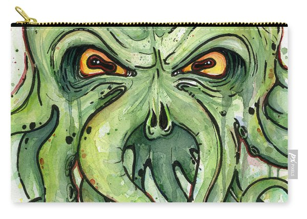 Cthulhu Watercolor Carry-all Pouch