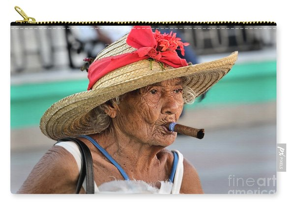 Cuban Lady Carry-all Pouch