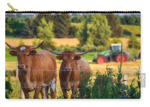 Carry-all Pouch featuring the photograph Curiousity by Garvin Hunter
