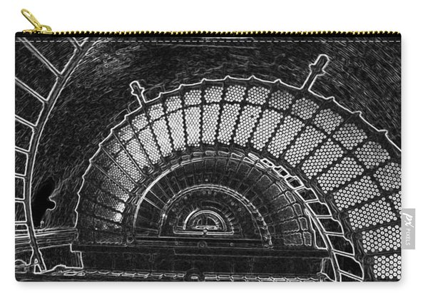 Currituck Lighthouse Stairs Carry-all Pouch