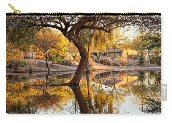Curved Reflection Carry-all Pouch