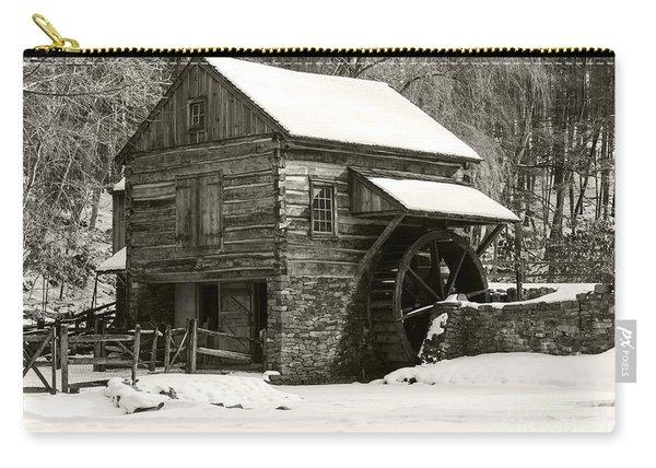 Cuttalossa In Winter Iv Carry-all Pouch