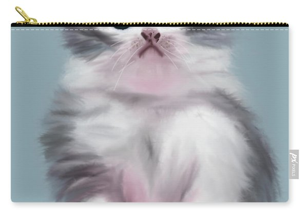 Cute Kitten Carry-all Pouch