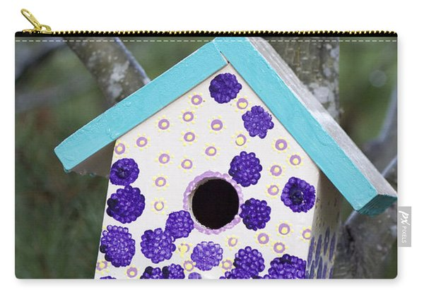 Cute Little Birdhouse Carry-all Pouch