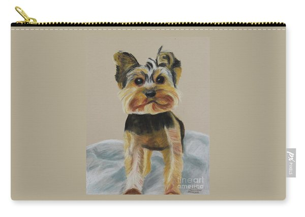 Cute Yorkie Carry-all Pouch