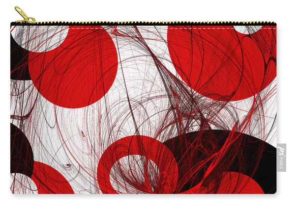 Cyclone Circle Abstract Carry-all Pouch