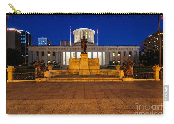 D13l112 Ohio Statehouse Photo Carry-all Pouch