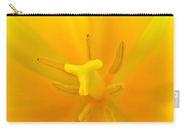 Daffodil Center Carry-all Pouch